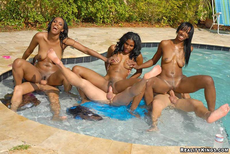 All became Nude black girl fucking at pool