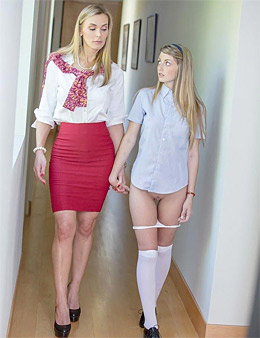 milf teen threesome sex