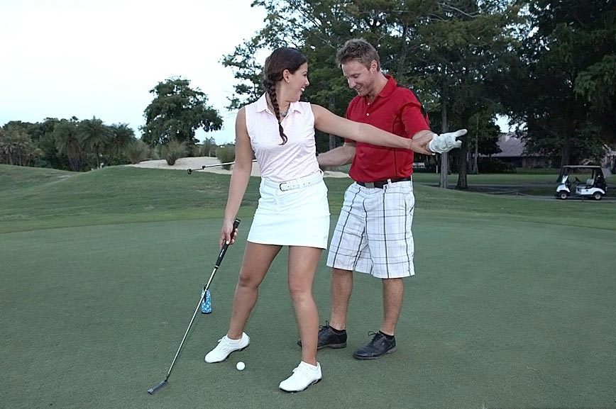 Was Golf hot hd sex