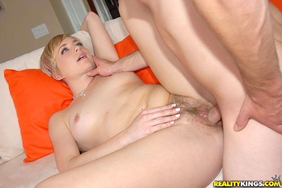 Teen Blonde Hairy Pussy