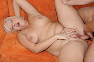 Gorgeous milf takes it hardcore